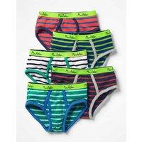 5 Pack Pants Multi Boys Boden, Multi
