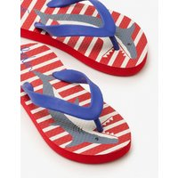 Printed Flip-flops Red Boys Boden, Red