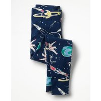 Fun Leggings Navy Girls Boden, Navy