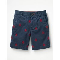 Chino Shorts Navy Boys Boden, Navy