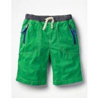 Adventure Shorts Green Boys Boden, Green