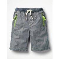 Adventure Shorts Grey Boys Boden, Grey
