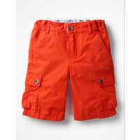 Summer Cargo Shorts Red Boys Boden, Red