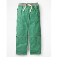 Surf Roll-up Trousers Green Boys Boden, Green