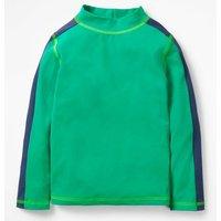 Rash Vest Green Boys Boden, Green