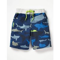 Board Shorts Blue Boys Boden, Blue