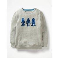 Adventure Toy Sweatshirt Blue Boys Boden, Blue