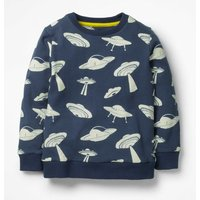 Adventure Toy Sweatshirt Navy Boys Boden, Navy