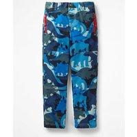 Lined Skate Trousers Blue Boys Boden, Blue