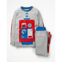 Out-Of-This-World Pyjamas Grey Boys Boden, Grey