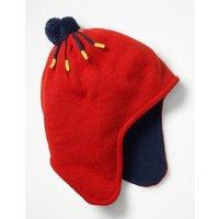 Fleece-lined Hat Red Boys Boden, Navy
