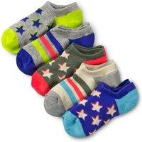 5 Pack Secret Socks Grey Girls Boden, Grey