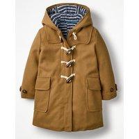 Duffle Coat Brown Girls Boden, Brown