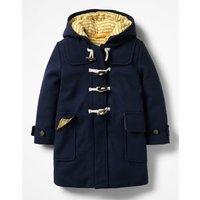 Duffle Coat Navy Girls Boden, Navy