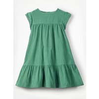 Pretty Cord Dress Green Girls Boden, Green