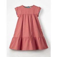 Pretty Cord Dress Pink Girls Boden, Pink