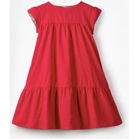 Pretty Cord Dress Pink Girls Boden, Red