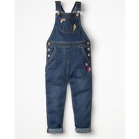 Long Dungarees Denim Girls Boden, Denim