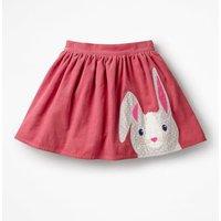 Animal Applique Skirt Pink Girls Boden, Pink