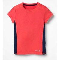 Active T-shirt Pink Girls Boden, Pink
