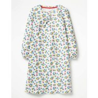 Printed Nightie Ivory Girls Boden, Ivory
