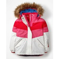 All-weather Waterproof Jacket White Girls Boden, White