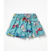 Pretty Woven Culottes Multi Girls Boden, Blue