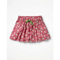 Pretty Woven Culottes Pink Girls Boden, Pink