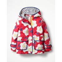 Jersey-lined Anorak Red Girls Boden, Red
