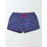 Heart Pocket Shorts Ivory Girls Boden, Ivory