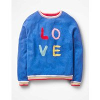 Full-of-Character Jumper Blue Girls Boden, Blue
