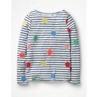 Colour Pop T-shirt Multi Girls Boden, Multi