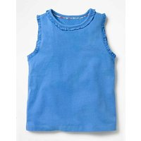 Pretty Vest Blue Girls Boden, Blue