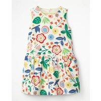 Cord Pinafore Dress Multi Girls Boden, Multi
