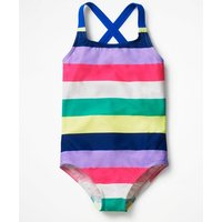 Cross-back Swimsuit Multi Girls Boden, Multi