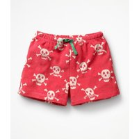 Adventure Towelling Shorts Pink Girls Boden, Pink