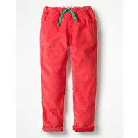 Pull-on Trousers Pink Girls Boden, Pink