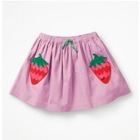 Novelty Pocket Skirt Purple Girls Boden, Purple