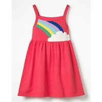 Happy Days Knitted Dress Pink Girls Boden, Pink