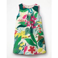 Printed Shift Dress Multi Girls Boden, Multi