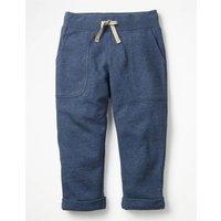 Slim Sweatpants Blue Girls Boden, Blue