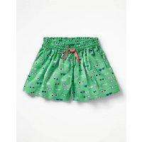 Pretty Woven Culottes Green Girls Boden, Green