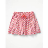 Pretty Woven Culottes Purple Girls Boden, Purple