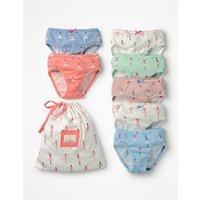 7 Pack Pants Multi Girls Boden, Multi
