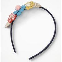 Flower Headband Multi Girls Boden, Multicouloured