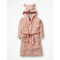 Novelty Dressing Gown Pink Girls Boden, Pink