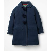 Wonderful Wool Coat Navy Girls Boden, Navy