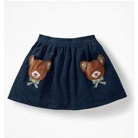 Fun Pocket Skirt Navy Girls Boden, Navy