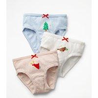 3 Pack Festive Pants Multi Girls Boden, Multi
