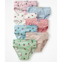 7 Pack Pants Green Girls Boden, Green